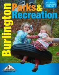 Program Guide - Burlington Parks and Recreation