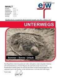 UNTERWEGS - Evangelisches Jugendwerk Bezirk Gaildorf
