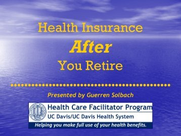 Health Insurance After You Retire