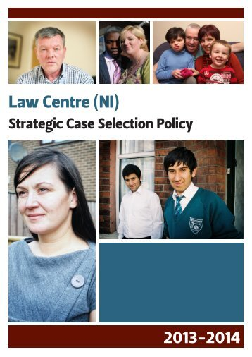 Strategic case selection policy - Law Centre NI