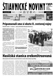 Štiavnické noviny 9 - Banská Štiavnica