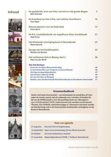 Een paar pagina's uit HeerlijkHeden 157 - Historische Vereniging ...