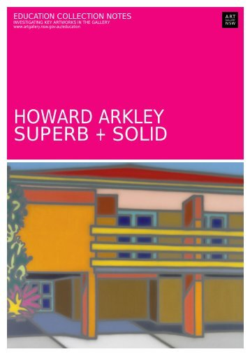 HOWARD ARKLEY SUPERB + SOLID