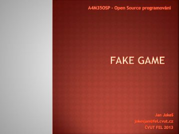 FAKE GAME