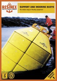 SUPPORT AND MOORING BUOYS - SMARTfield