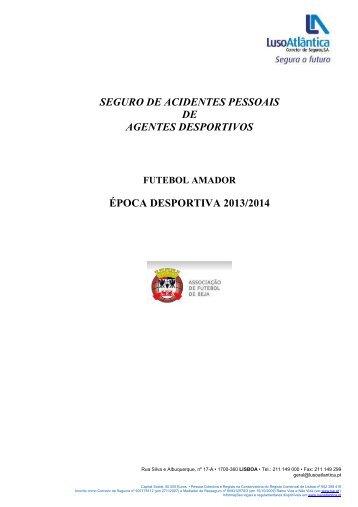 Condições gerais - Associação de Futebol de Beja