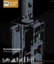 Beschallungssysteme - C & G Showtechnik GmbH