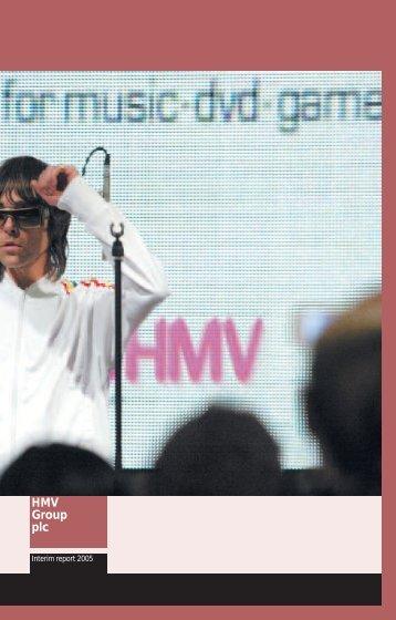 HMV Group plc - HMV.com