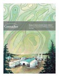 PUBLIC DISCLOSURE DOCUMENT - Connacher Oil and Gas