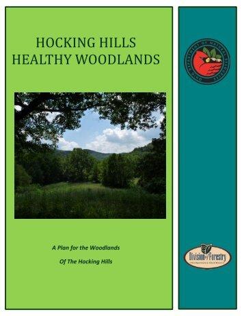 Hocking Hills Region Woodland Plan - Ohio Department of Natural ...