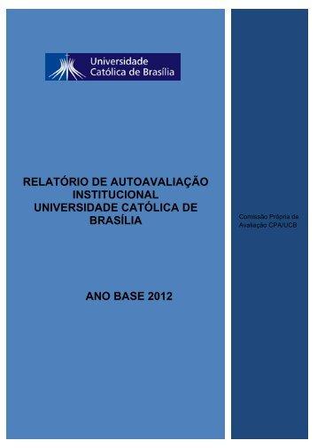 Relatório de Autoavaliação Parcial - Universidade Católica de Brasília