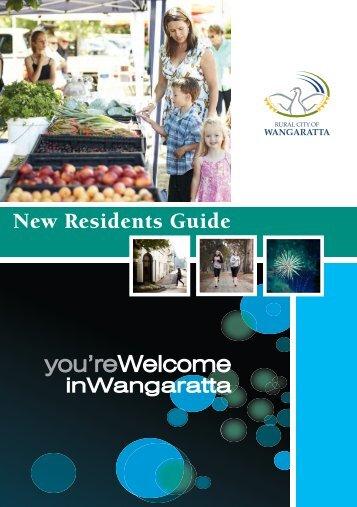 Rural City of Wangaratta New Resident's Guide