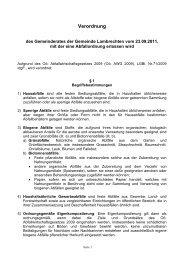 Abfallordnung vom 23. September 2011 - Lambrechten