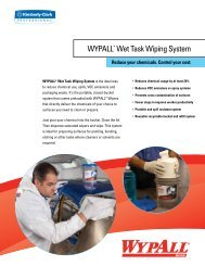 WYPALL* Wet Task Wiping System