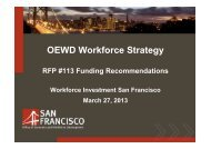Item 3: RFP#113 Funding Recommendations presentation - Office of ...