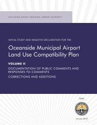oceanside Municipal Airport Land use Compatibility plan