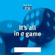 spiel für 3 bis 8 große und kleine Spieler ab 1 Meter. - Nova Carta
