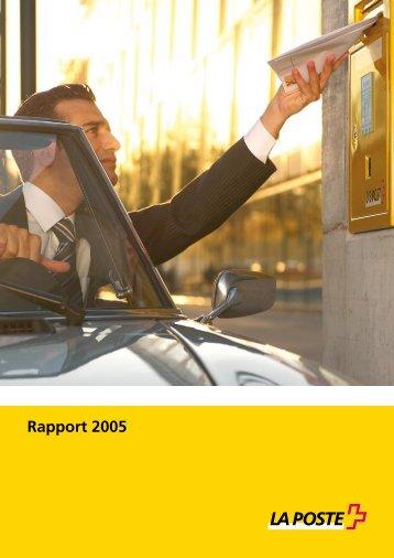 Rapport de gestion 2005Le lien est ouvert dans ... - La Poste Suisse