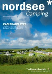 nordsee* Camping Broschüre - Nordseetourismus