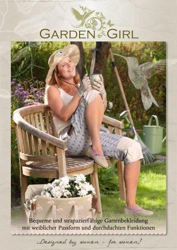 Bequeme und strapazierfähige Gartenbekleidung mit weiblicher ...