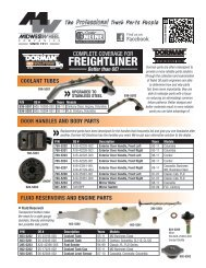 Dorman HD Solutions Freightliner Products 10/30/2012