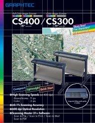 CS400 & CS300 series scanners - Scantopia
