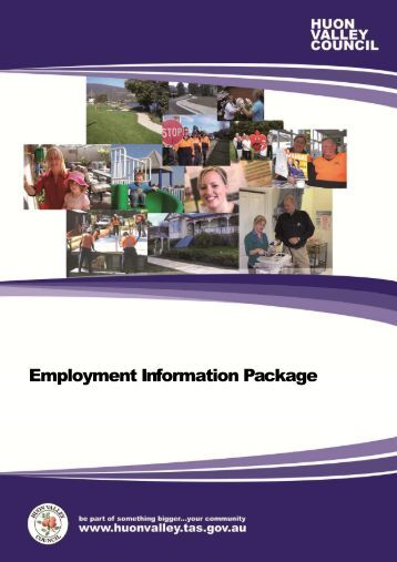 Employment Application Kit - Welcome | Huon Valley Council ...