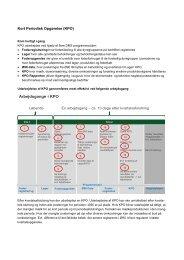 Kort Periodisk Opgørelse (KPO) Arbejdsgange i KPO - DLBR IT
