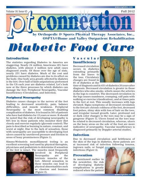 Diabetic Foot Care Osptainc Com