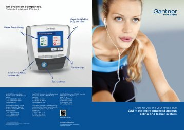 Product Brochure - IHRSA Buyers Guide