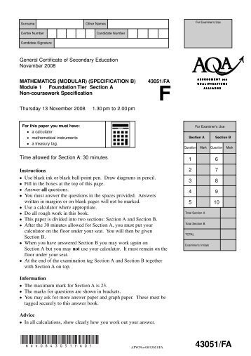 edexcel decision mathematics 1 past papers