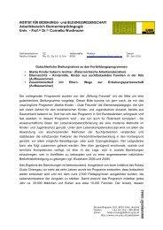 Univ. Prof. Cornelia Wustmann, Institut für Erziehungs - Plattform 10