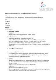 Referat af bestyrelsesmøde den 18. maj 2011 på Sønderborg ...