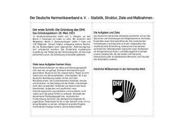 Folie 1 - beim Deutschen Harmonika Verband eV