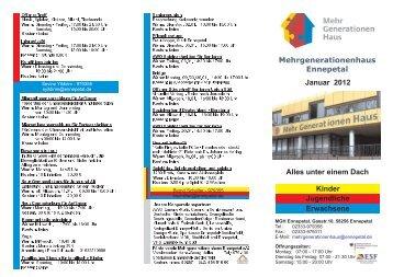 Familienzentrum im MGH - EN-Mosaik