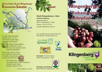 [PDF] Klingenberger Esskastanien-Lehrpfad - IG Edelkastanie