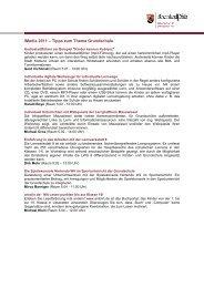 Tipps zum Thema Grundschule_aktualisiert - iMedia
