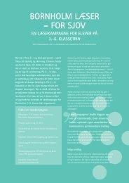 BORNHOLM LæSER – FOR SJOV - Viden om Læsning