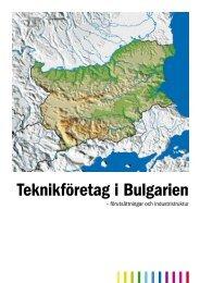 Teknikföretag i Bulgarien - Teknikföretagen