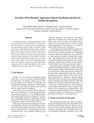 Towards a More Realistic Appearance-Based Gait ... - ResearchGate