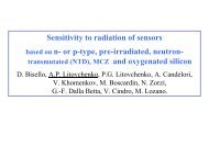 Neutron Irradiation Effects on n-type Standard, NTD and pre ...