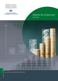 Bulletin de conjoncture - Juillet 2013 - Tunisie industrie
