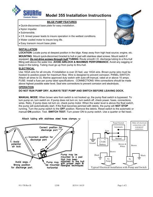 911-758-D_380 Bilge Pump 355-020-00 (10).pdf - SHURflo on