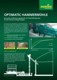 OPTIMATIC HAMMERMÜHLE - Huning Maschinenbau