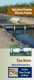 APEP 06 Flow Meter - California Water Institute