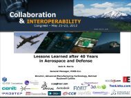 Lessons Learned after 40 Years in Aerospace and Defense