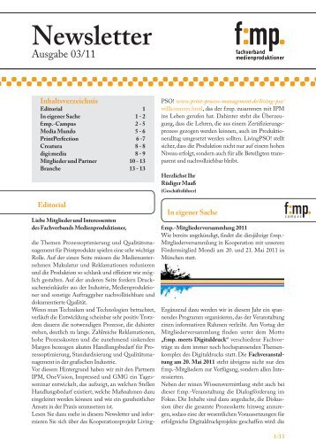Newsletter - PrintPerfection
