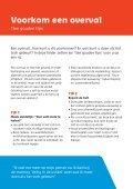 Voorkom een overval - Veilig Ondernemen - Page 2