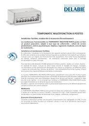 TEMPOMATIC MULTIFONCTION 8 POSTES - DELABIE