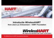 Introductie WirelessHART - HET Instrument 2010